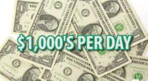 Retired Millionaire Make $1000s per day