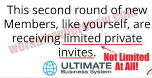The Ultimate Business System Limited Space Availability