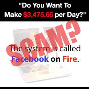 is Facebook On Fire a scam?