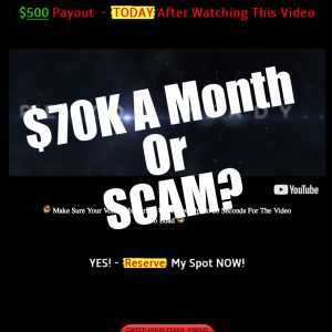 is Retired Millionaire a scam or can you make $70K a month