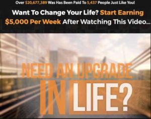 7 Figure Dream Life Home Page sales video