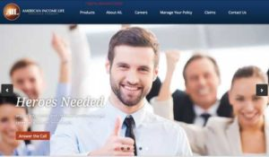 American Income Life home page