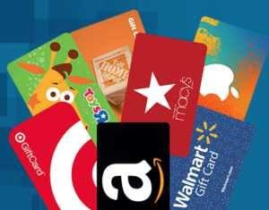 Bizrate Rewards Gift Cards