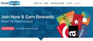 Bizrate Rewards Home Page