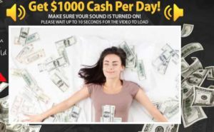 Get Paid 1K Per Day Sales Video Home Page