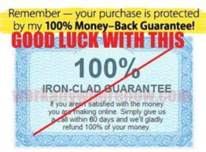 Home Online Profits Club's Guarantee Not Real
