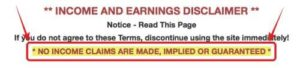Home Wealth Business Earnings Disclaimer