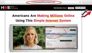 Home Wealth Business Home Page Sales Video