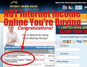 Internet Income Online Not The Real Program