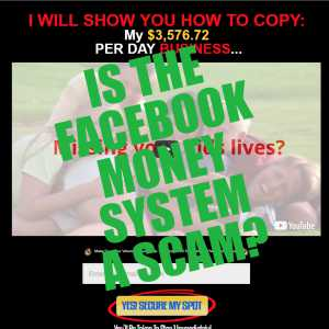 Is The Facebook Money System a scam?