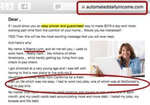 Limited Commissions Raena Lynn is same as Automated Daily Income