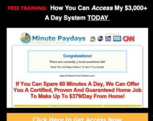 Limited Commissions Talks about 45 Minute Paydays