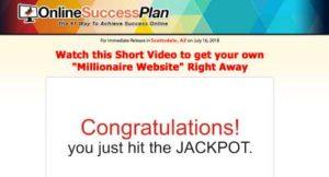 Online Success Plan Sales Video 2018
