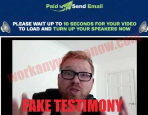 Paid To Send Email Fake Testimony Fiverr Actor 2