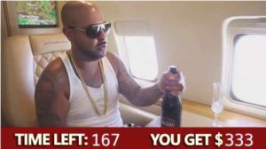 Simple Income Solution Guy On Private Plane & Champagne