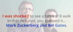The Facebook Money System Bill Gates and Mark Zuckerberg meeting