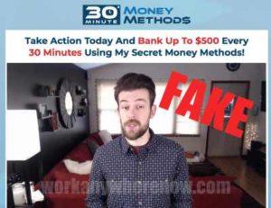 30 Minute Money Methods Fake Testimonies 2