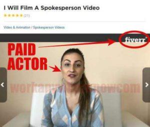 30 Minute Money Methods Fake Testimonies Fiverr Actor