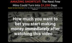 Amazing Shortcut sales video home page