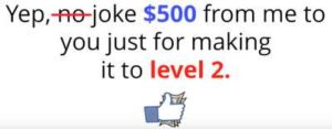 Instant Income At Home $500 sales tactic
