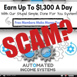 Is Automated Income Systems A Scam