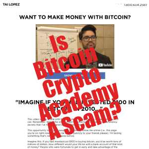 Is Tai Lopez Bitcoin Crypto Academy A Scam?