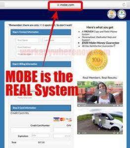 Online Empire Maker Hidden Program is MOBE