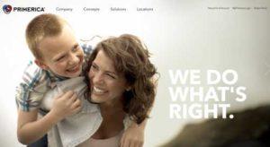 Primerica Home Page