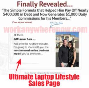 The 16 Steps To Six Figures same as Ultimate Laptop Lifestyle
