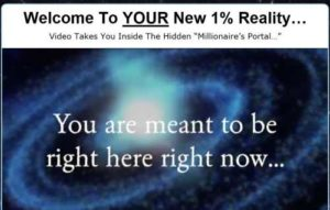 The Manifestation Millionaire home page sales video