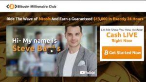 Bitcoin Millionaire Club Home Page
