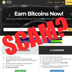 Is BTC Clicks a scam?