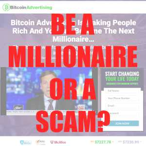 Is Bitcoin Advertising A Scam