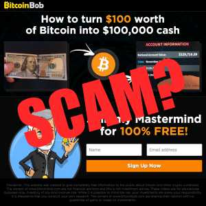 Is Bitcoin Bob a scam