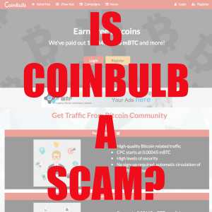 Is CoinBulb A Scam?