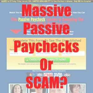 Is Passive Paychecks A Sacm