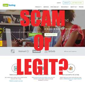 Is User Testing A Scam or Legit?
