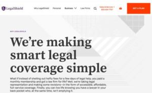 Legal Shield Home Page