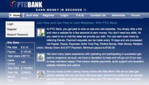 PTC Bank Home Page
