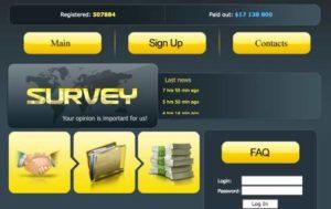Part Survey Home Page