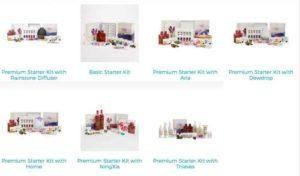 Young Living Starter & Premium Kits