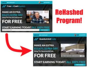 Free Ad Cash System Is Same As Quantum Ad Code