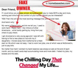 Home Based Wealth System Fake Owner