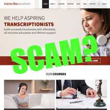 Is Transcribe Anywhere A Scam