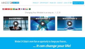 Mindset 24 Global Home Page