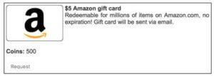 Piggy Bank GPT Amazon Gift Card Redemption