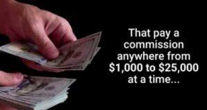 Secret Millionaire Training $1000 - $25000 digit commissions