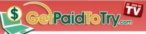GetPaidToTry.com Logo