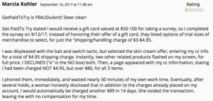 GetPaidToTry.com Real Testimony