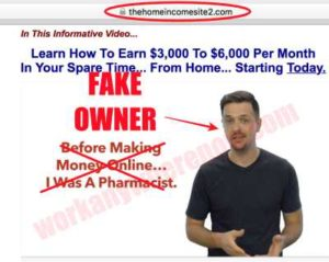 Home Income System Fake Owner